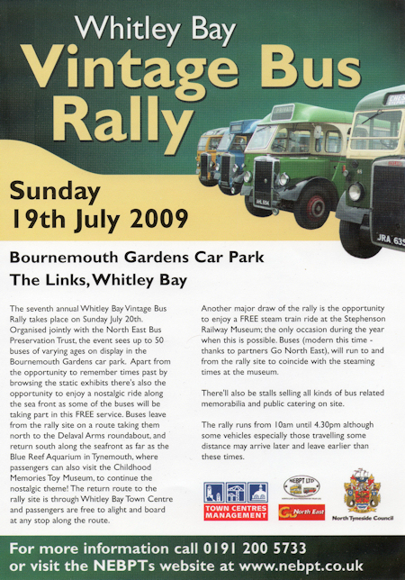 North tyneside rally at whitley bay